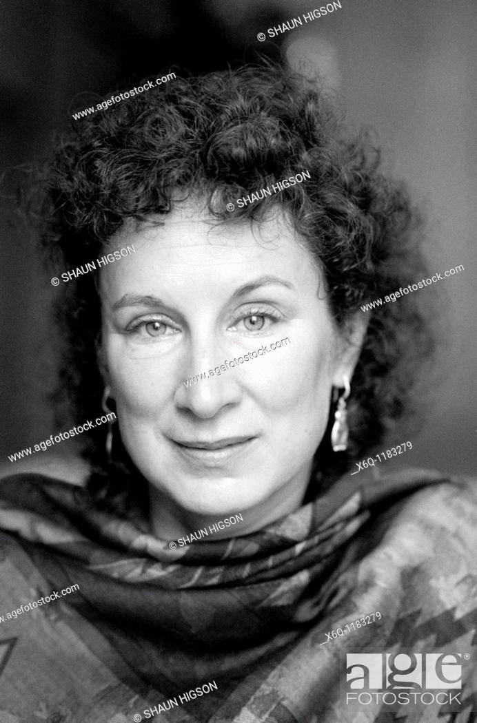 Imagen: Canadian novelist Margaret Atwood.