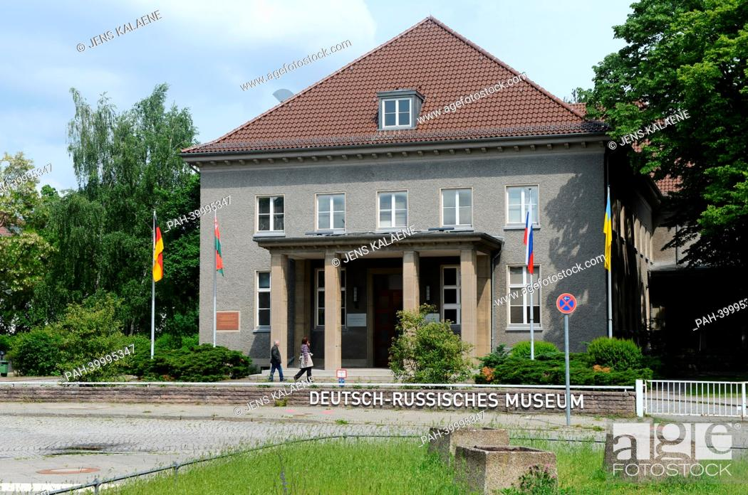 Stock Photo: The German-Russian Museum is pictured in Waldowallee in Berlin Karlshorst, Germany, 31 May 2013. The Second World War ended in Europe with the capitulation of.