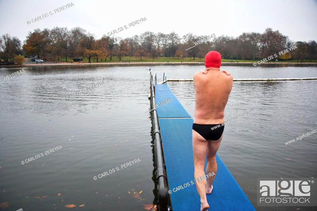 Stock Photo: Hyde Park at London, United Kingdom, Great Britain, Europe.