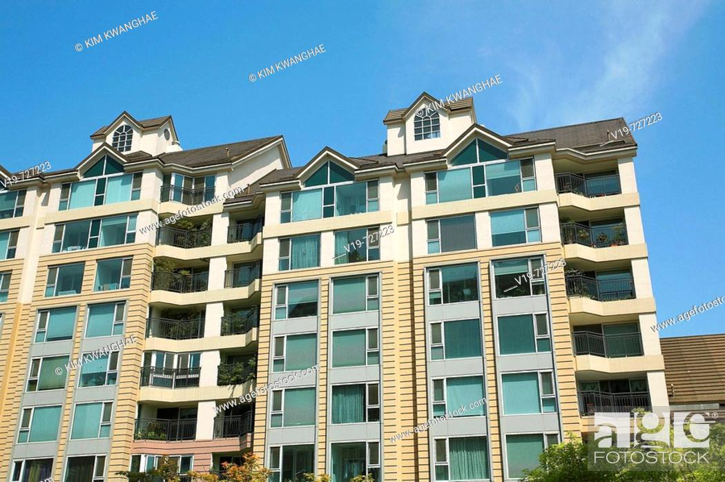 Apartments Seoul South Korea Stock Photo Picture And Rights
