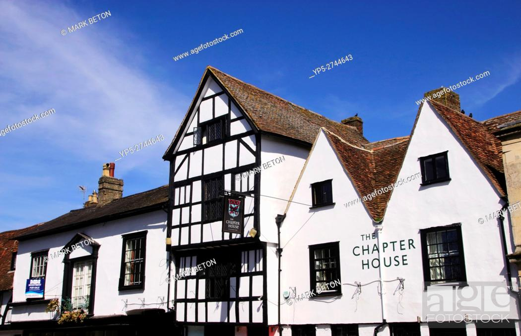 Stock Photo: The Chapter House Hotel Salisbury Wiltshire.