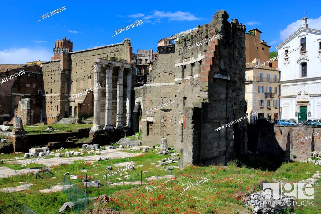 Stock Photo: Roman Forum, Rome, Italy.