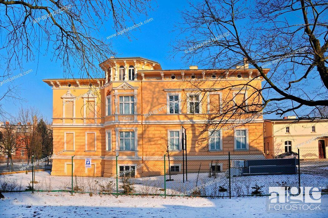 Imagen: Jan Kasprowicz Museum, Solankowa Street. Inowroclaw, Kuyavian-Pomeranian Voivodeship, Poland.