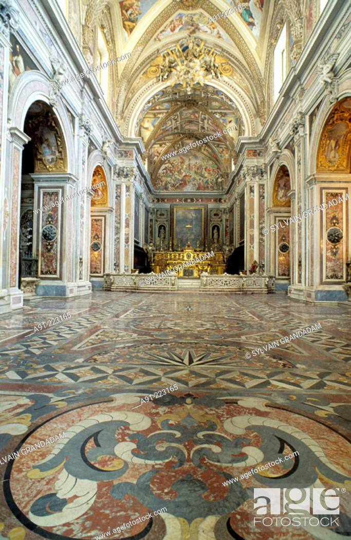 Church Of The San Martino Chartreuse Naples Italy Stock Photo Picture And Rights Managed Image Pic A91 223165 Agefotostock