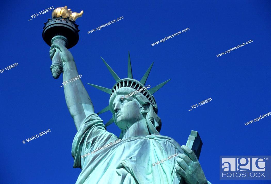 Stock Photo: Statue of Liberty  New York.