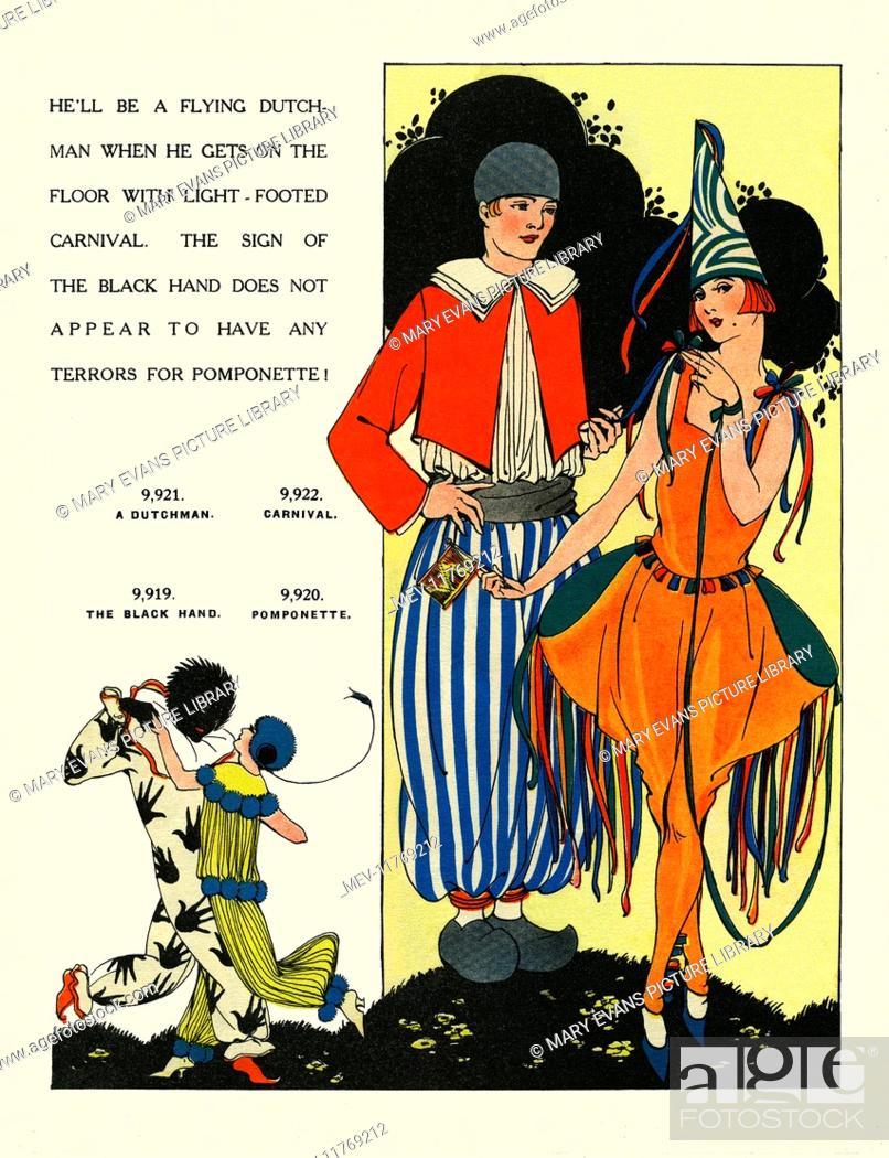 Leach fancy dress  A Dutchman  Carnival  The Black Hand