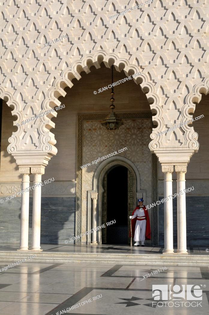 Photo de stock: Mausoleum of Mohamed V, Rabat, Morocco.