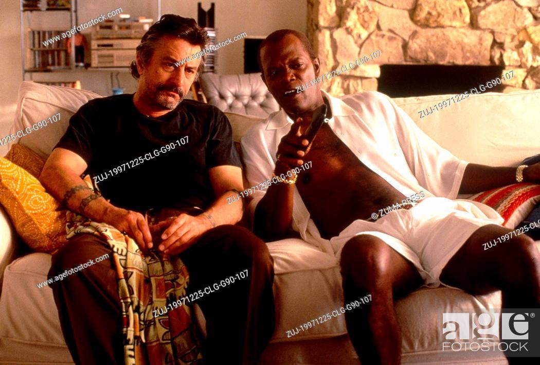 Stock Photo: Dec 25, 1997; Los Angeles, CA, USA; Actor ROBERT DE NIRO stars as Louis Gara and SAMUEL L. JACKSON as Ordell Robbie in the Quentin Tarantino directed film.