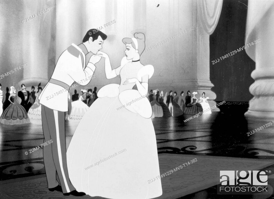 Stock Photo: Dec 29, 1949; Los Angeles, CA, USA; Scene from the animated movie 'Cinderella'. (Credit Image: © Courtesy of Walt Disney Producti/Entertainment.