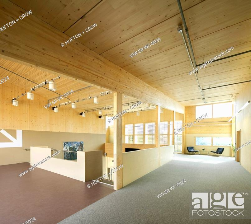 Stock Photo: WAINGELS COLLEGE, SHEPPARD ROBSON, WOODLEY, 2010, INTERIOR SPACE,COLLEGE, Architect.