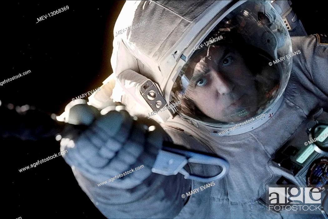 Stock Photo: George Clooney Characters: Matt Kowalsky Film: Gravity (USA/UK 2013) Director: Alfonso Cuaron 28 August 2013.