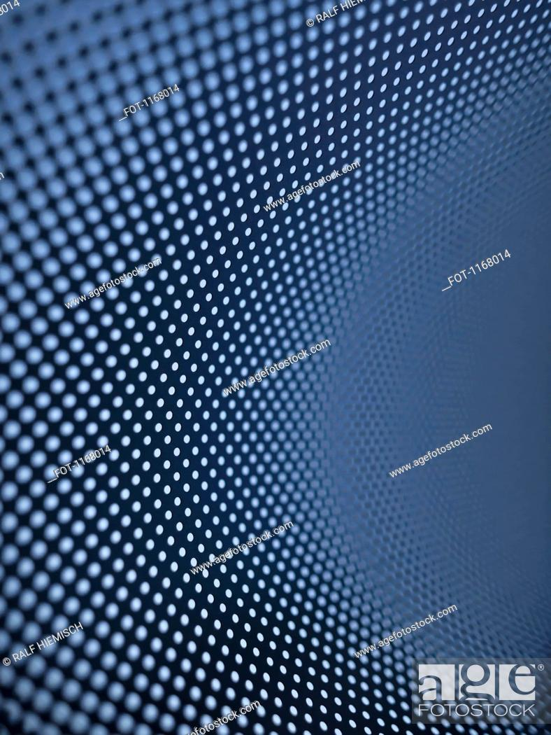 Stock Photo: Curved dot pattern.