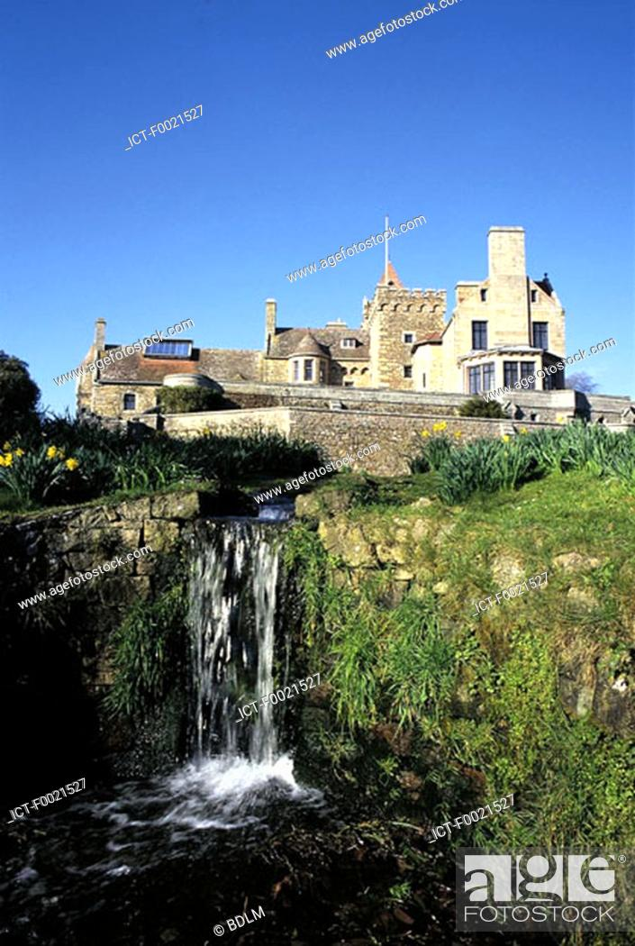 Stock Photo: Channel Islands, Jersey, manor of St Ouen.