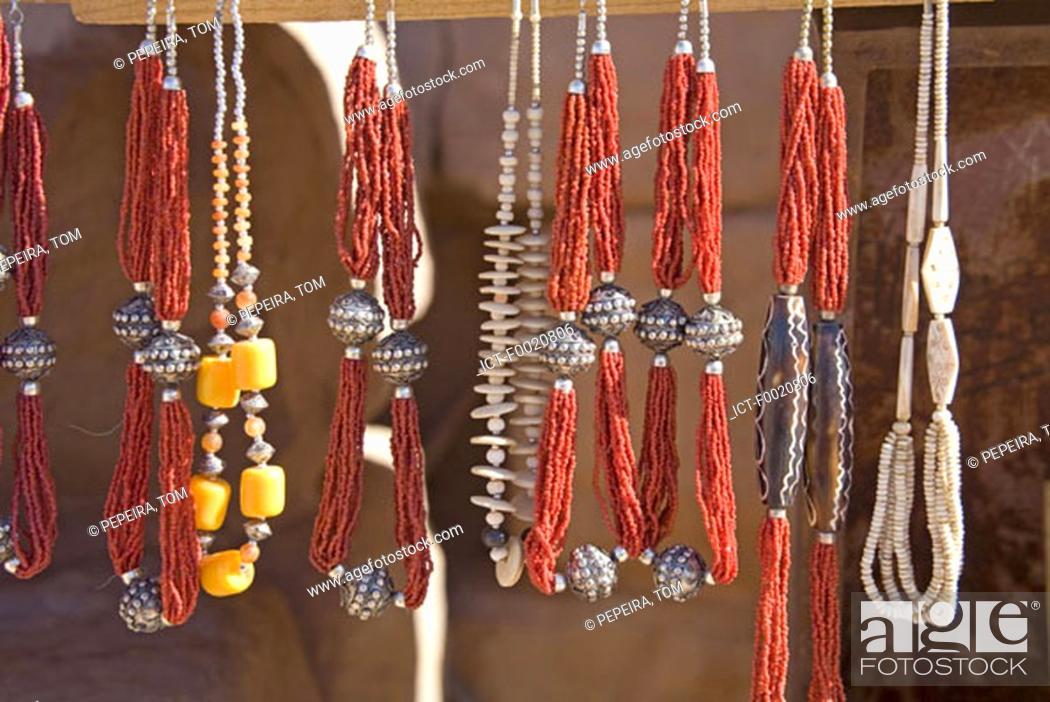 Stock Photo: Jordan, Petra, craftwork.