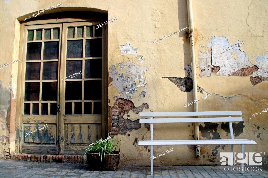 Stock Photo: Hause, Palma de Cervello, Catalonia, Spain.