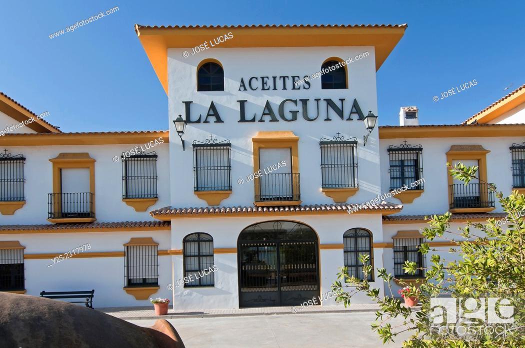 Stock Photo: Hacienda La Laguna, Puente del Obispo-Baeza, Jaen province, Region of Andalusia, Spain, Europe.