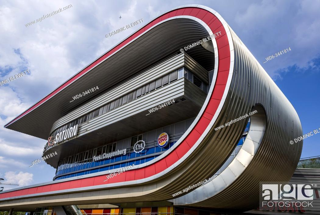 Stock Photo: The Eastgate Mall in Marzahn, Berlin, Germany.