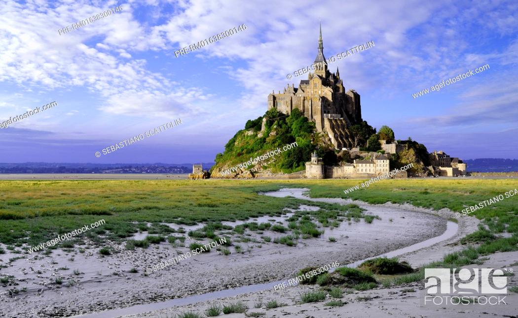 Mont Saint Michel Normandy France Europe Mont Saint Michel Normandie Frankreich Europa Stock Photo Picture And Rights Managed Image Pic Pre Rm01638300146 Agefotostock