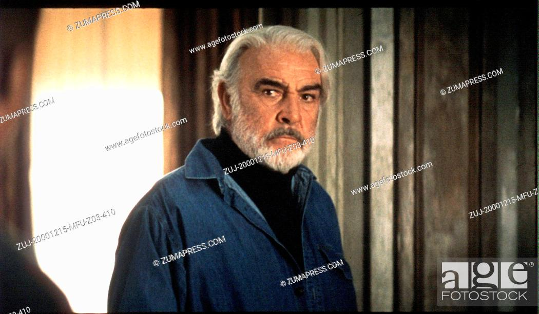 Dec 15 2000 Hollywood Ca Usa Sean Connery In Finding Forrester Stock Photo Picture And Rights Managed Image Pic Zuj 20001215 Mfu Z03 410 Agefotostock