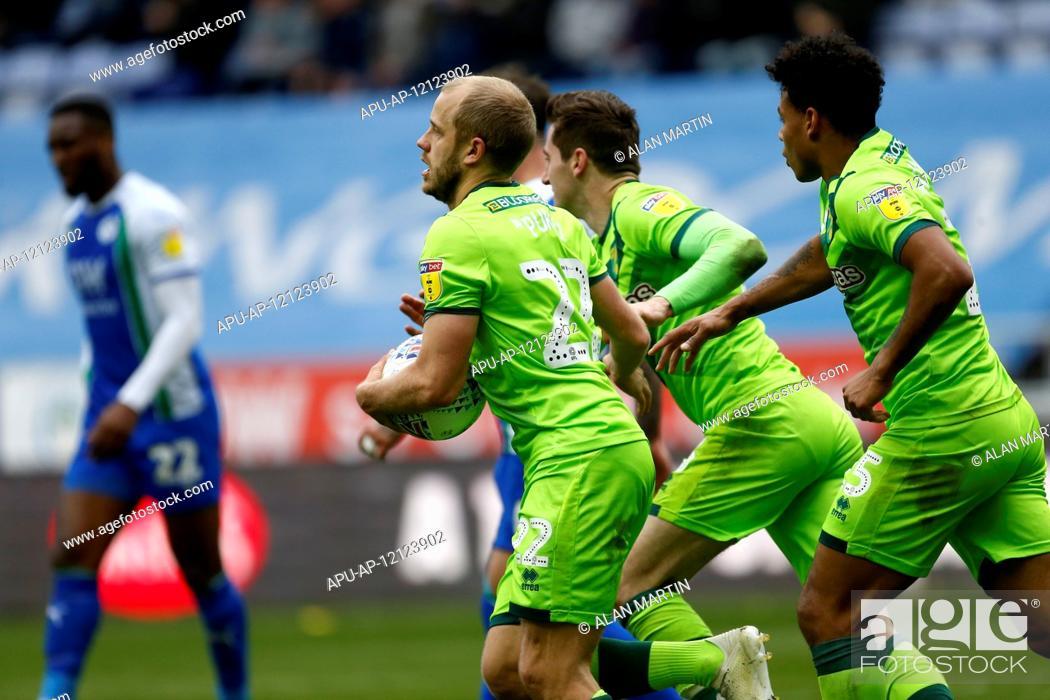 2019 EFL Championship Football Wigan Athletic v Norwich City