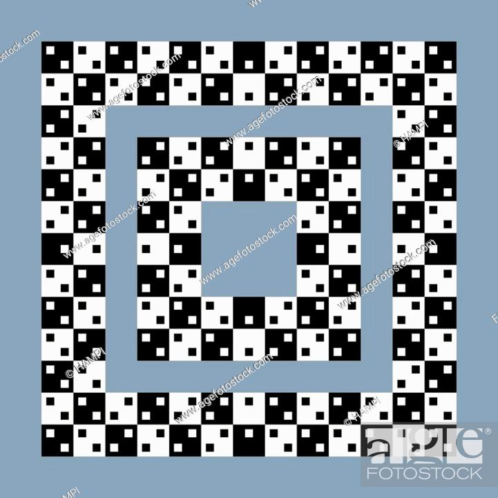 Optical Illusion Effect Op Art Vector Abstract Background Stock Vector Vector And Low Budget Royalty Free Image Pic Esy 045252342 Agefotostock