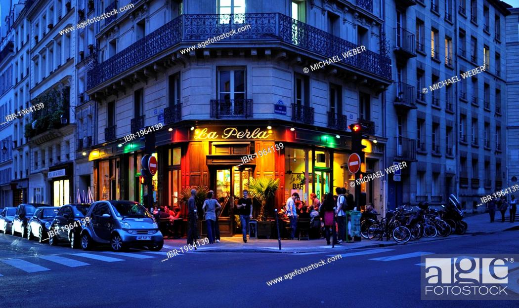 Motor Village La >> Restaurant La Perla Jewish Quarter Of Le Marais Village St