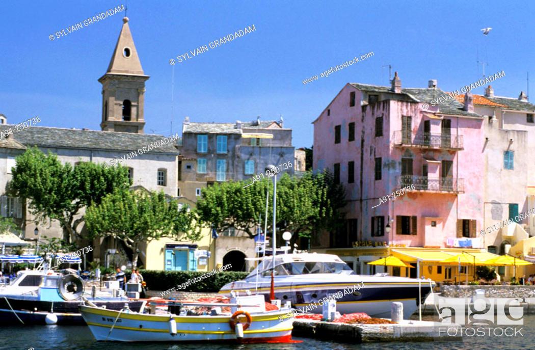 Stock Photo: Saint-Florent. Corsica Island, France.