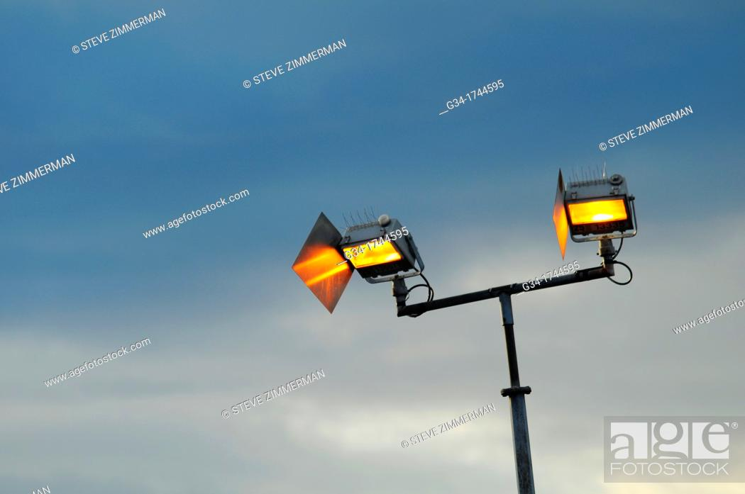Stock Photo: Dusk Light.