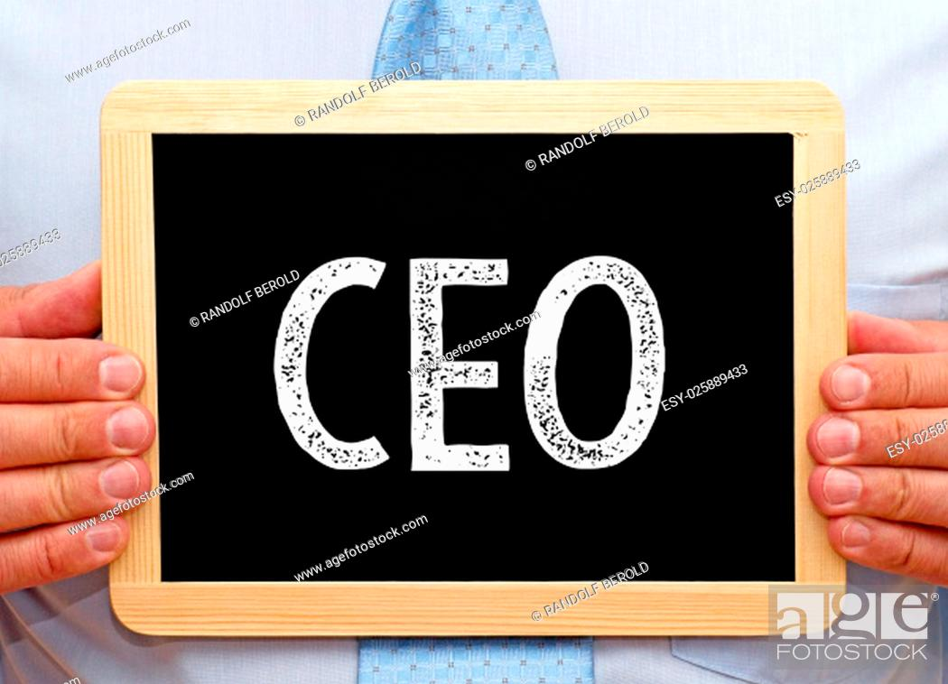 Imagen: CEO - Chief Executive Officer.