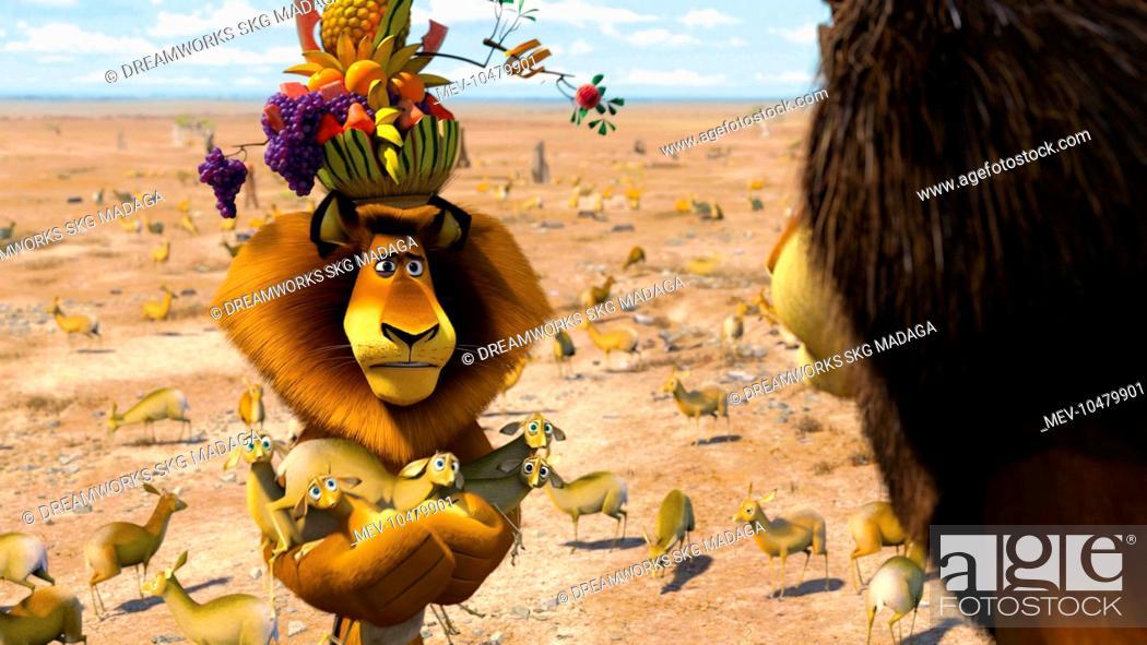 MADAGASCAR : ESCAPE 2 AFRICA BEN STILLER voices Alex / Lion