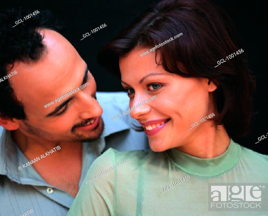 Stock Photo: Couple in harmony.