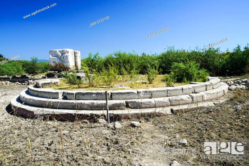 Stock Photo: Miletus Old Port. Ancient Greece. Asia Minor. Turkey.