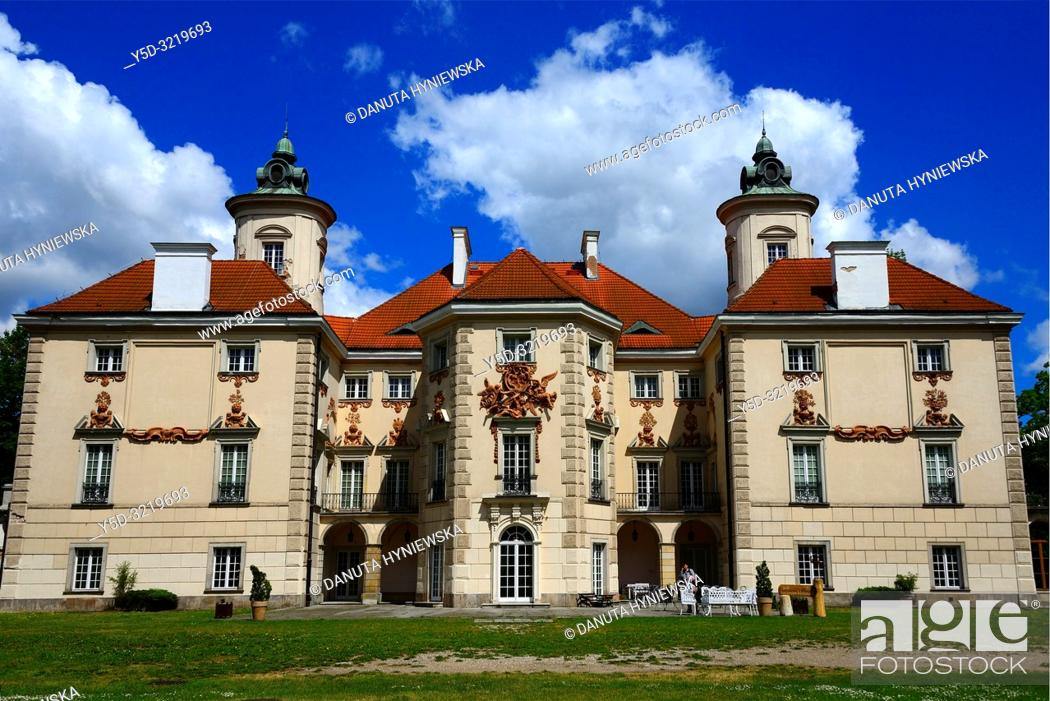 Imagen: Palace at Otwock Wielki or Otwock Grand Palace known also Jezierscy Family palace or Bielinscy Family palace, architect Tylman van Gameren.