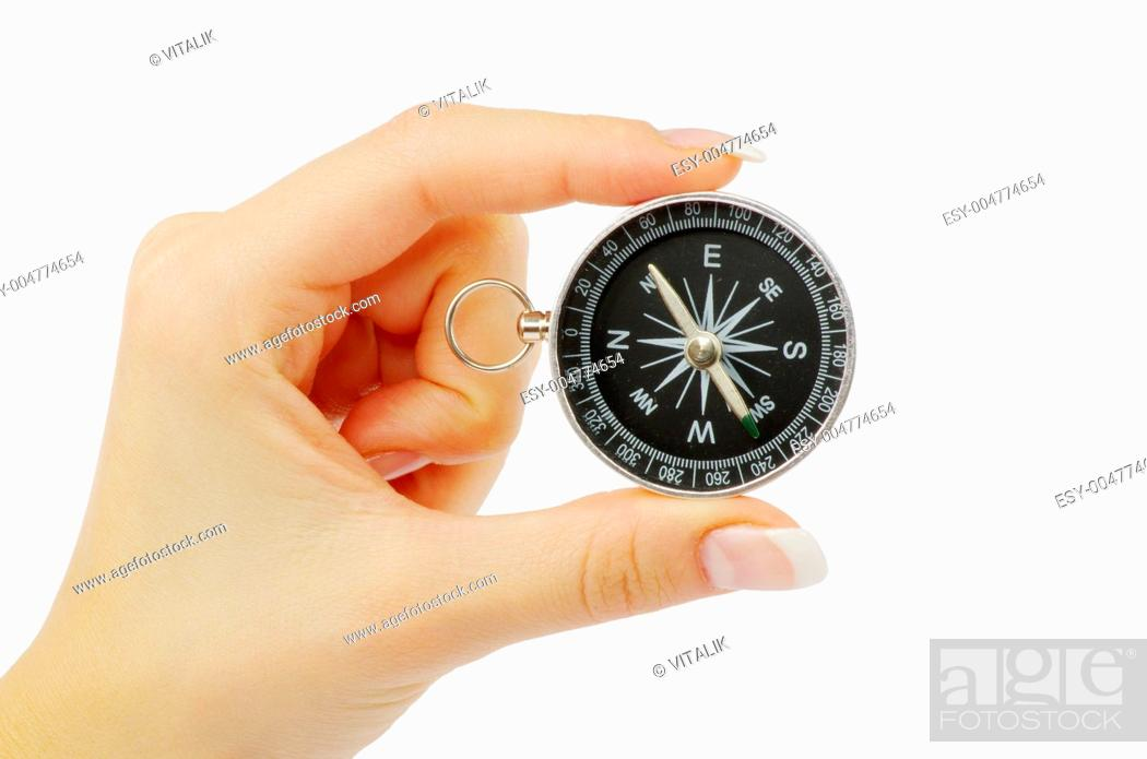 Stock Photo: compass.
