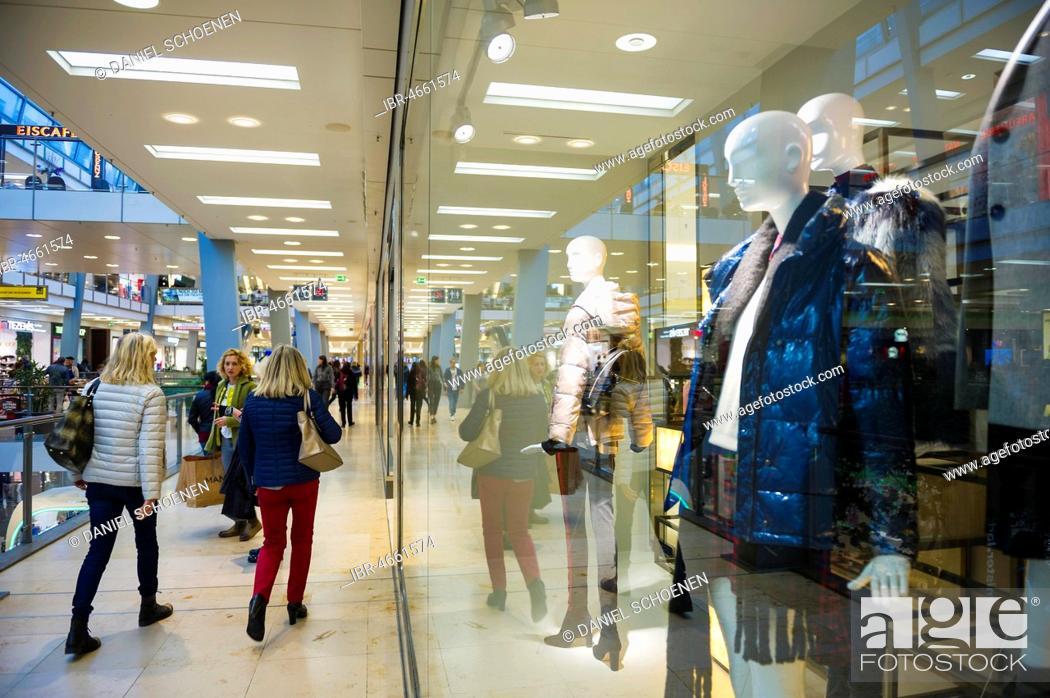 Shopping Centre Ettlinger Tor Karlsruhe Baden Wurttemberg Germany