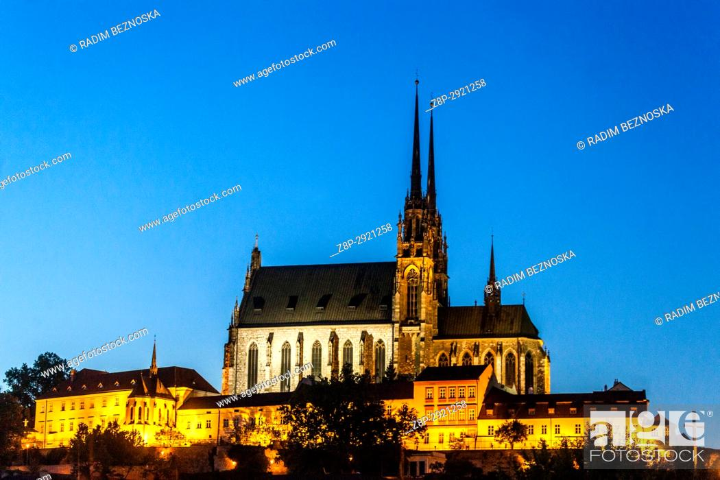 Imagen: Cathedral of Saints Peter and Paul, Petrov hill, Brno, Moravia, Czech Republic.