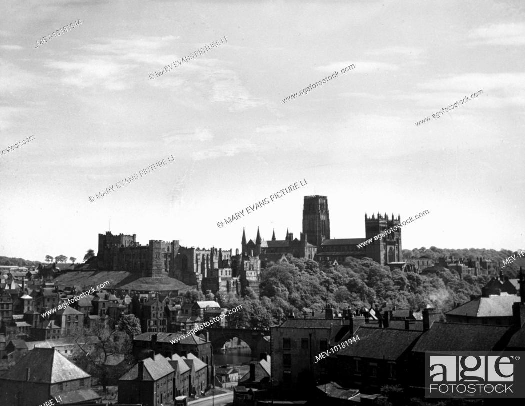 A Fine View Of Durham County Durham England The City And The