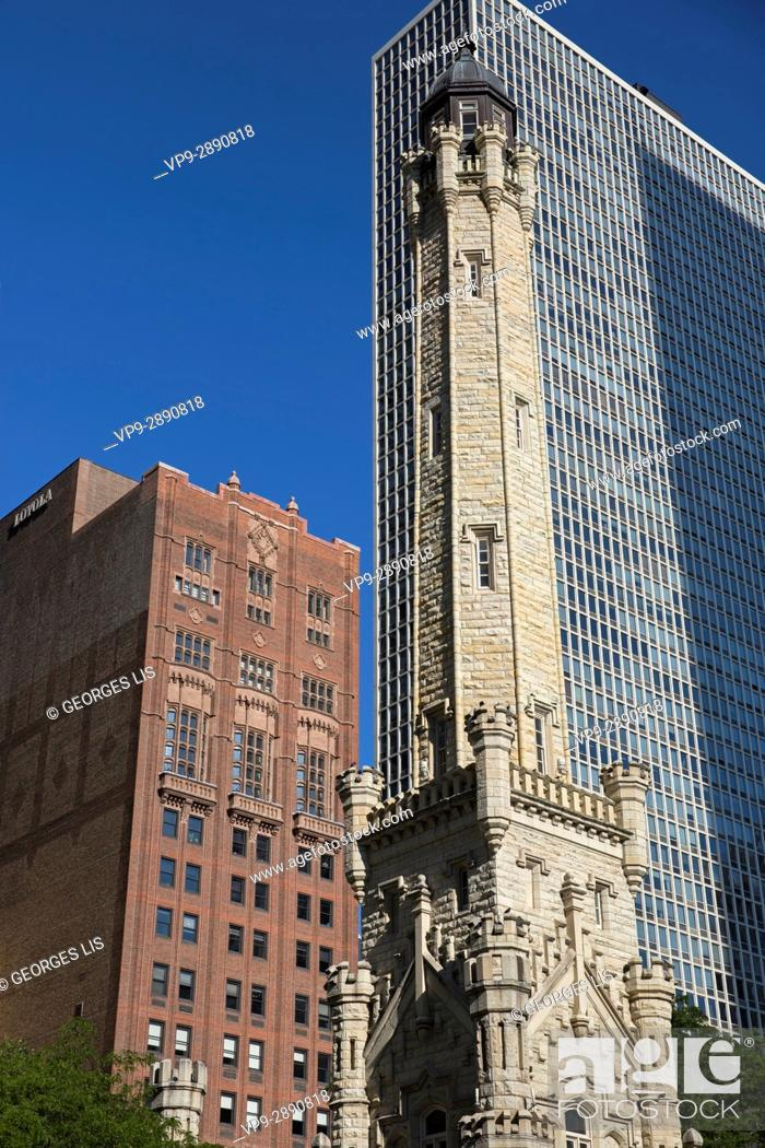 Imagen: Water Tower north michigan avenue historic building pumping station.