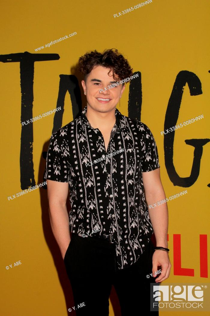 """Stock Photo: Brandon Stewart 09/09/2019 The Los Angeles Special Screening of """"""""Tall Girl"""""""" held at the Netflix in Los Angeles, CA Photo by Y."""