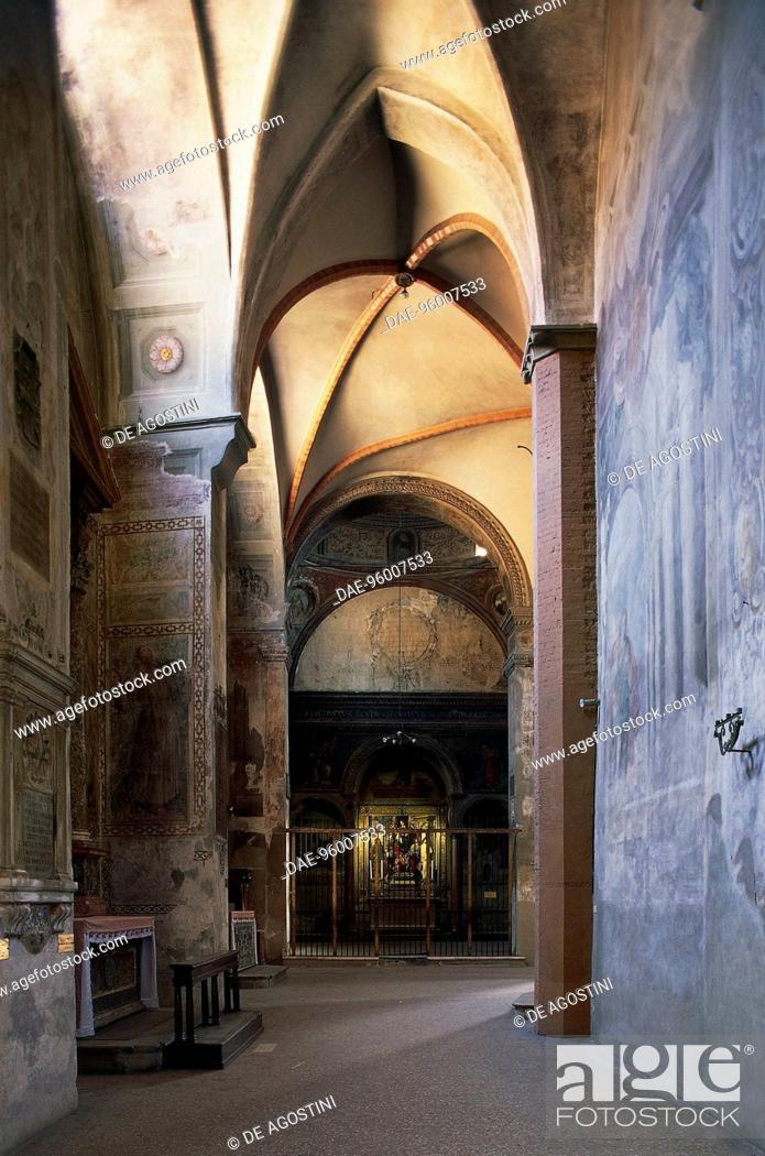 Bentivoglio Chapel, Basilica of San Giacomo Maggiore, 12th-14th ...