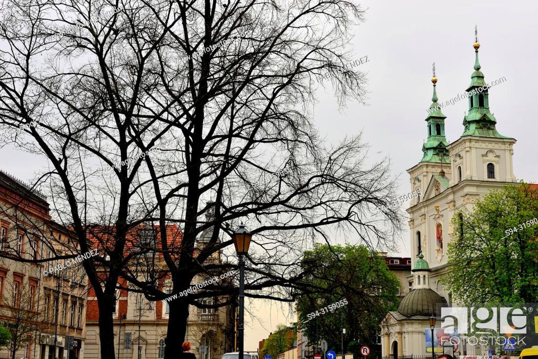 "Imagen: Chapel """"Kosciol"""" Sw. Floriana, Krakow, Poland."