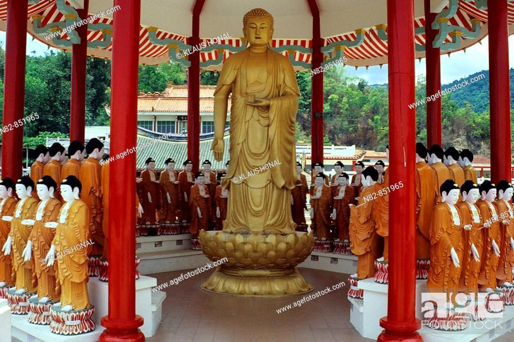 Imagen: Kek Lok Si - Temple of the thousand Buddhas, Kek Lok Si temple Ban Po Thar - Penang / Malaysia.