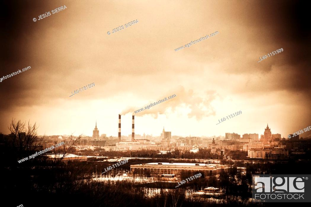 Stock Photo: Moscow, Russia.
