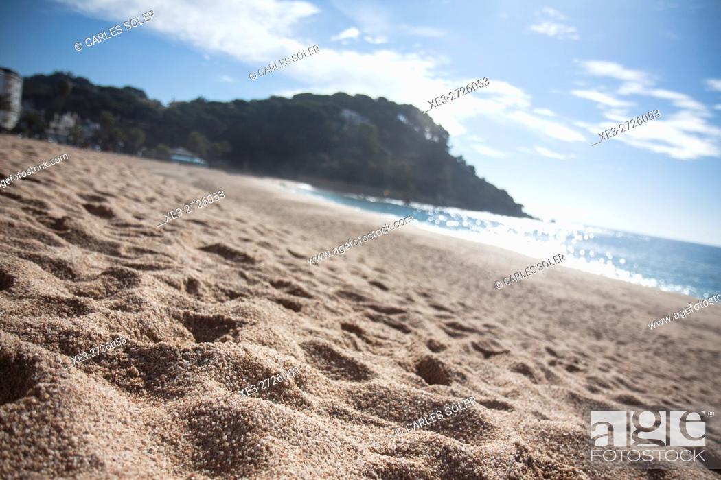 Imagen: Beach, LLoret de Mar, Girona Province, Spain.