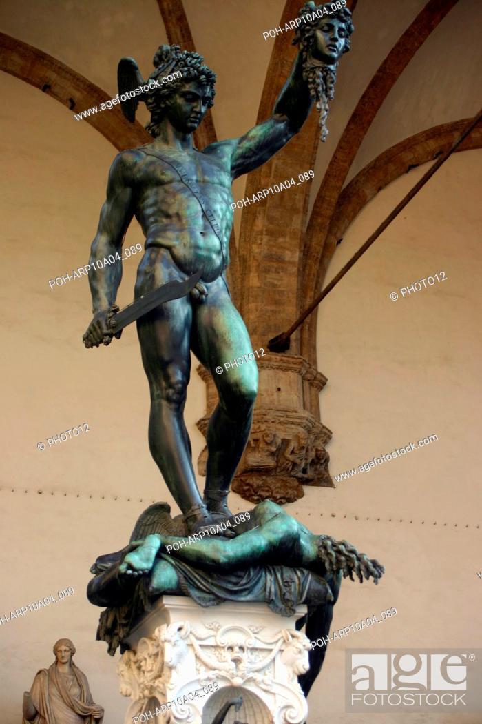 Benvenuto Cellini Italian School Perseus With The Head Of