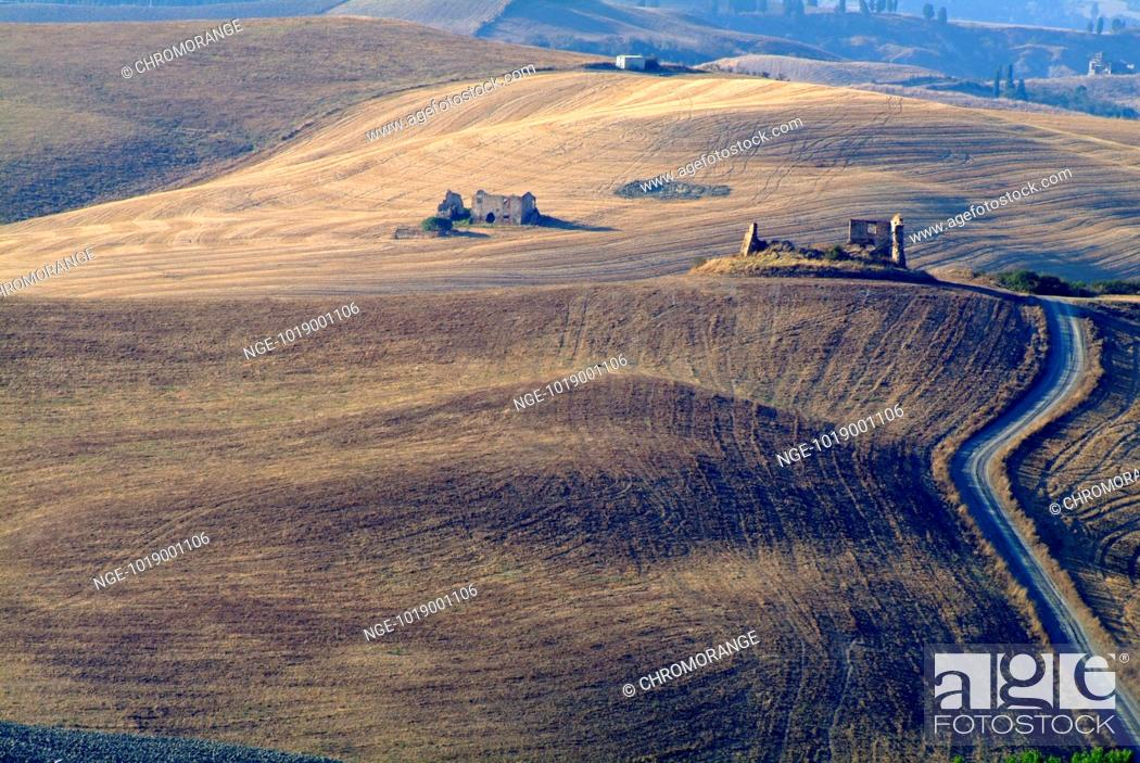 Imagen: Landscape with Ruins, Tuscany.