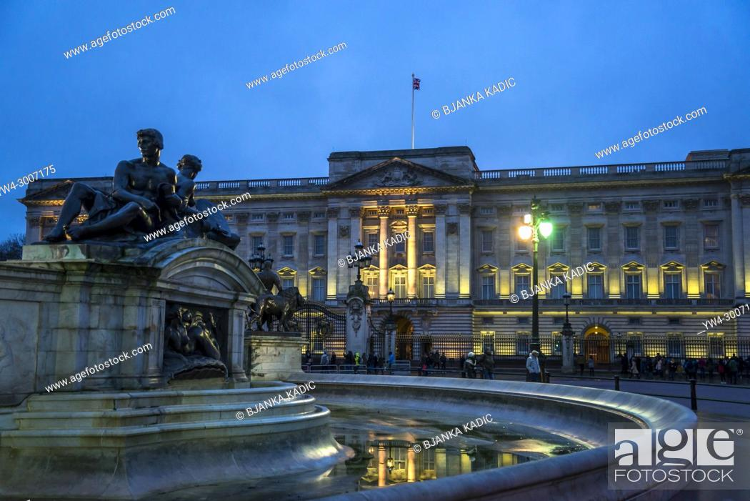 Imagen: Buckingham Palace is the London residence and administrative headquarters of the reigning monarch of the United Kingdom, London, England, UK.