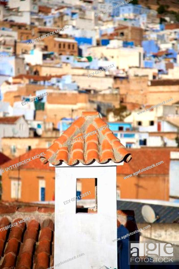 Stock Photo: View of Chaouen.