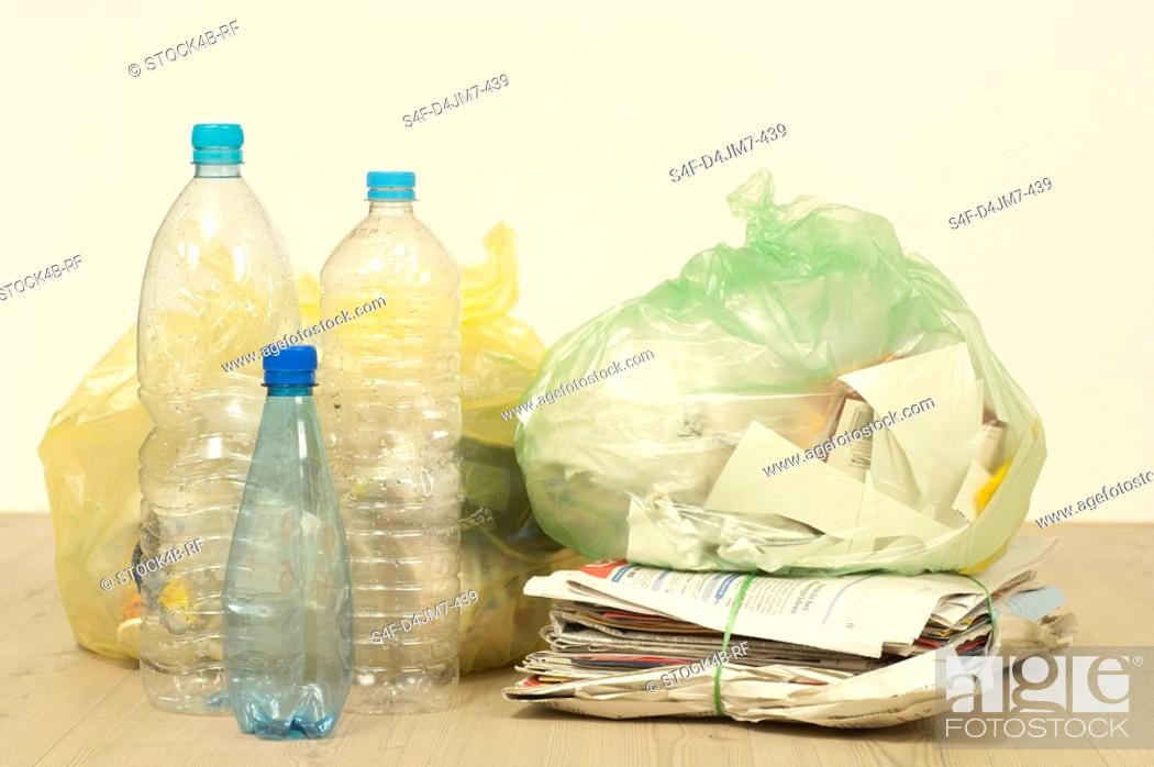 Stock Photo: Recyclable waste.