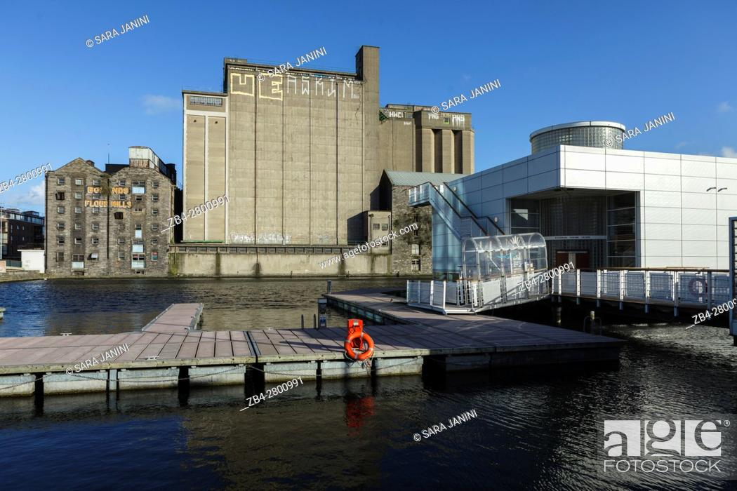 Stock Photo: The Docklands, Dublin, Ireland, Europe.